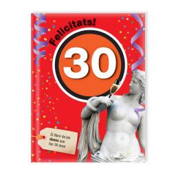 Felicitats! 30 (Dona)