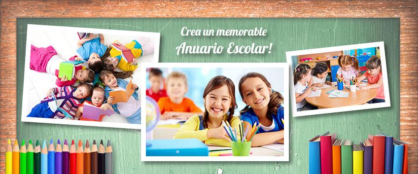 Crea tu Anuario Escolar personalizado